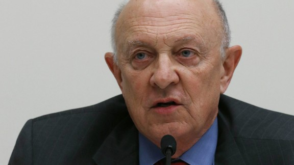 Former CIA Director James Woolsey speaks during a briefing on Capitol Hill on February 25, 2013.