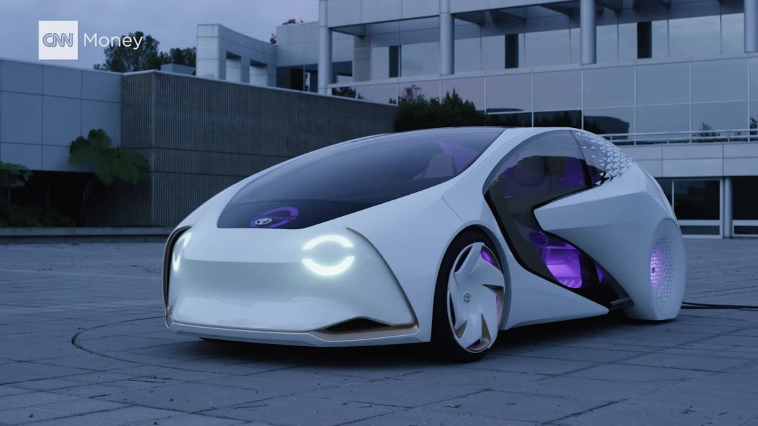 Toyota S Far Out Car Of The Future Cnn Video