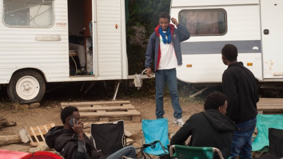 Cedric Herrou said he offered young refugees a place to stay and rest before continuing their journey.