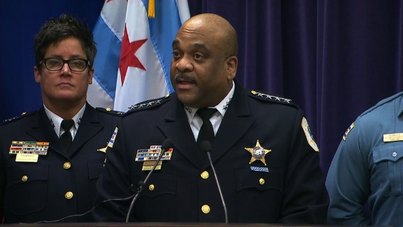 Eddie Johnson from the Chicago police during a press conference about the special need teenager beated that was passed on FB live on January 05 2017.