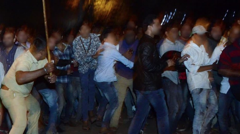 Bangalore 4 Detained Over Alleged New Years Eve Sex -2036