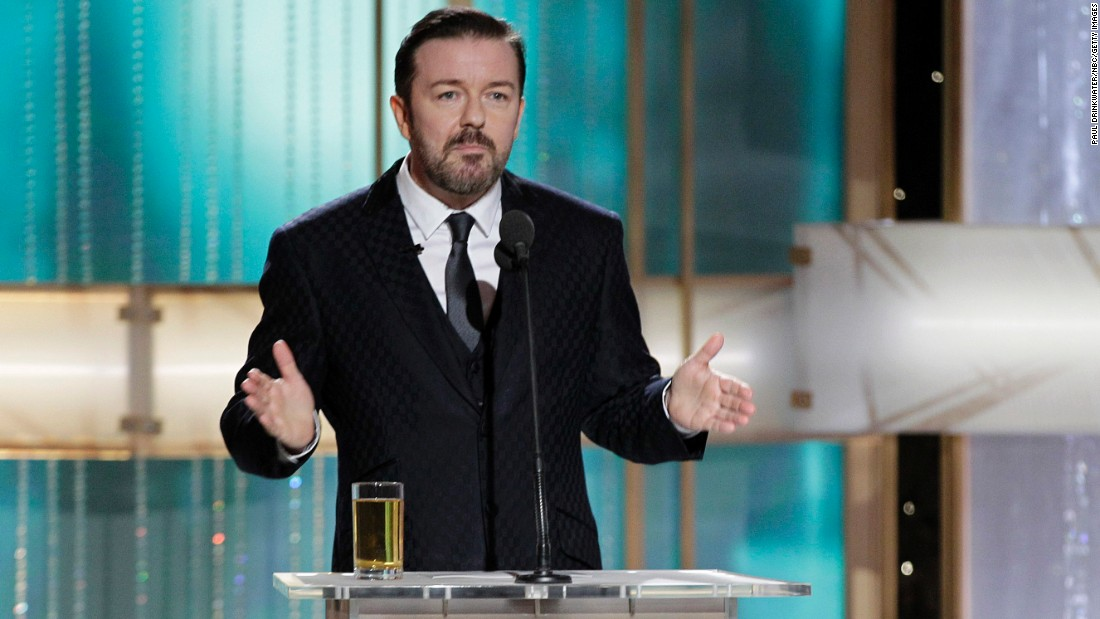 No celebrities were off limits during Ricky Gervais' opening monologue at the 2011 Golden Globes. He managed to offend Angelina Jolie, Johnny Depp, Charlie Sheen and several others in a span of five minutes.