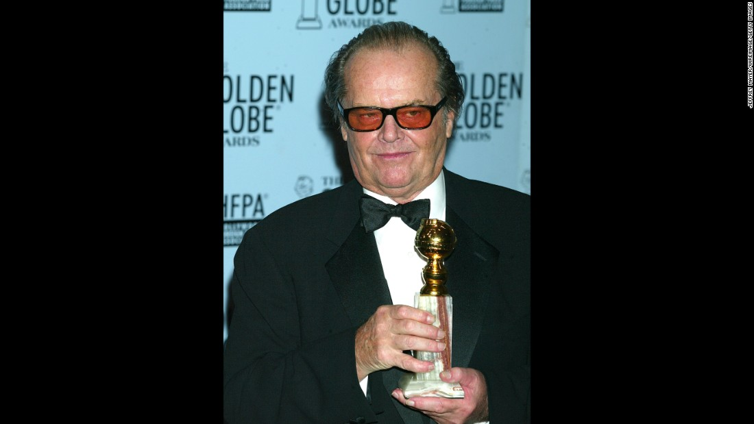 "Jack Nicholson was in the middle of a rambling speech after winning Best Actor in a Drama for ""About Schmidt,"" when he told the audience he had taken a Valium earlier in the night. Well, that explained it!"