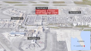Fort Lauderdale airport: 5 dead, shooting suspect had gun in ... on long island islip airport map, national airport map, st. petersburg airport map, ponce airport map, air force base homestead florida map, colorado airport map, runway heathrow airport map, key west airport terminal map, car rental fll airport map, ft myers airport map, montreal airport map, ft lauderdale fl airport map, washington airport map, hayward airport map, los angeles intl airport map, george bush airport terminal map, placencia airport map, flint airport map, o'hare airport runway map, richmond airport map,