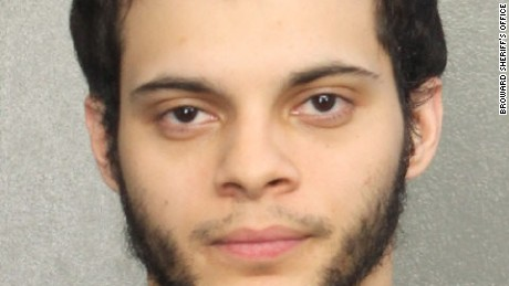 Suspect Esteban Santiago is being held in federal custody in Florida.