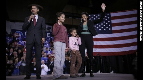 White House Donates Daughters