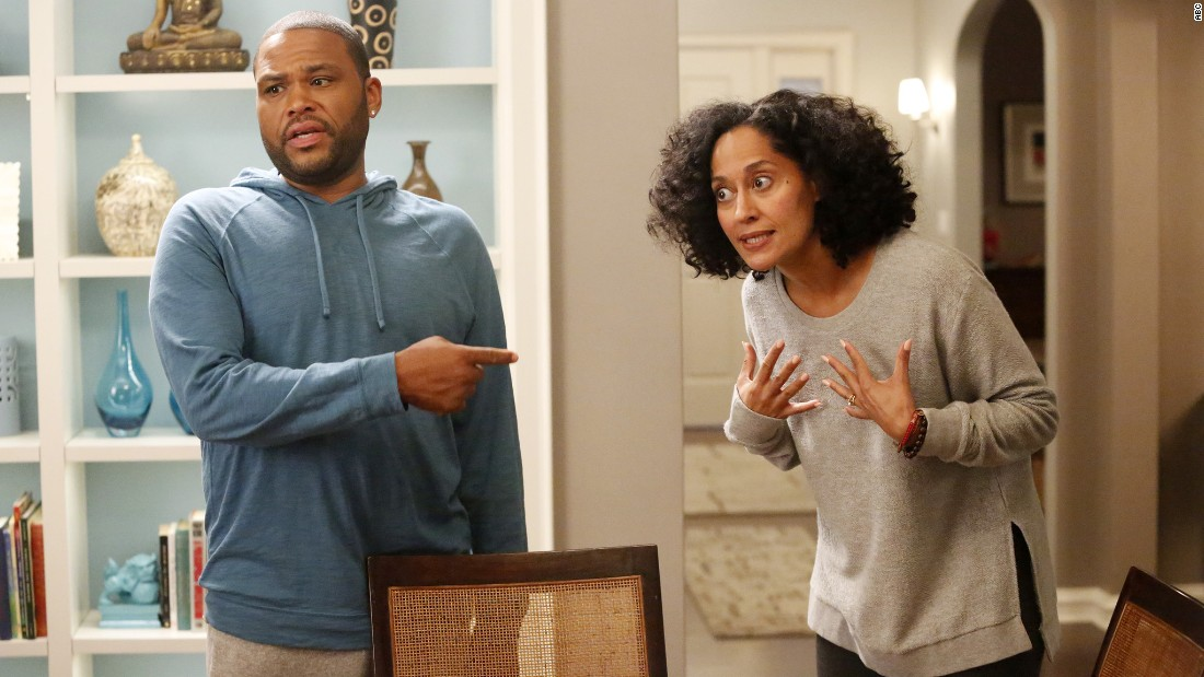 "In ""black-ish,"" Dre Johnson Sr. (Anthony Anderson) and his wife try to ingrain a sense of cultural identity in their four kids, along with the help of his own dad, played by Laurence Fishburne. Since it premiered in 2014, it has dealt with intense topics, like when the Johnson family gathered for a night of tough TV and tougher discussions, waiting to see whether a police officer would face charges for the assault of a black man.<br />"