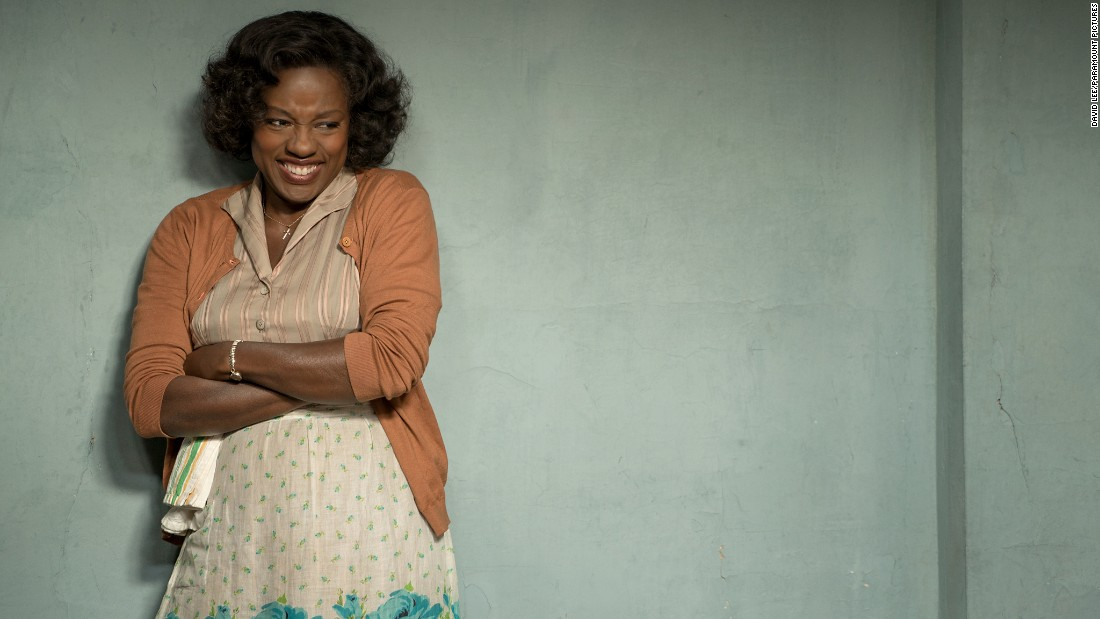 "<strong>Best supporting actress in a motion picture: </strong>Viola Davis, ""Fences"""