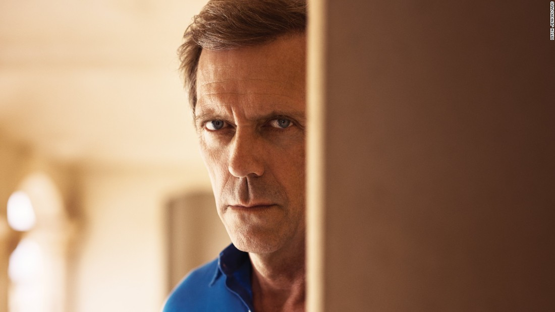 "<strong>Best supporting actor in a series, miniseries or television film: </strong>Hugh Laurie, ""The Night Manager"""