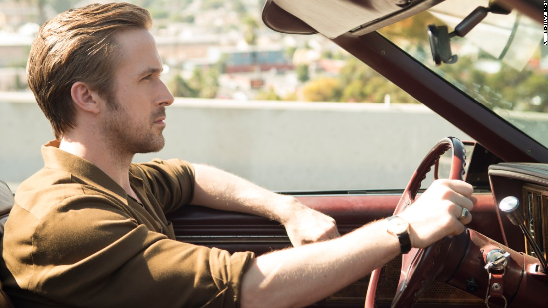 "<strong>Best actor in a motion picture -- musical or comedy: </strong>Ryan Gosling, ""La La Land"""