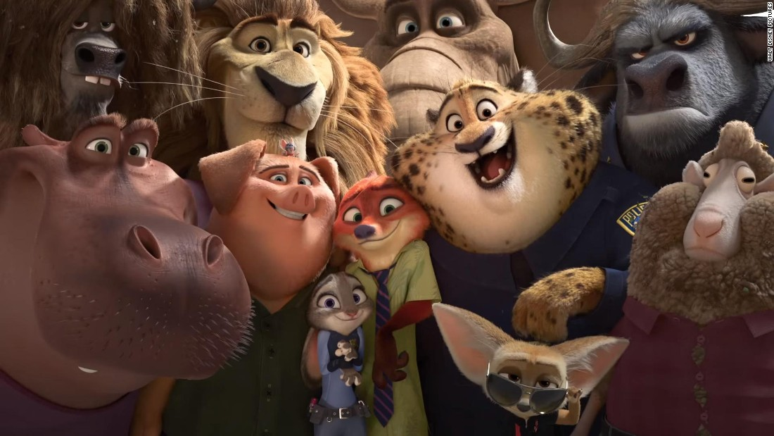 "<strong>Best animated feature film: </strong>""Zootopia"""