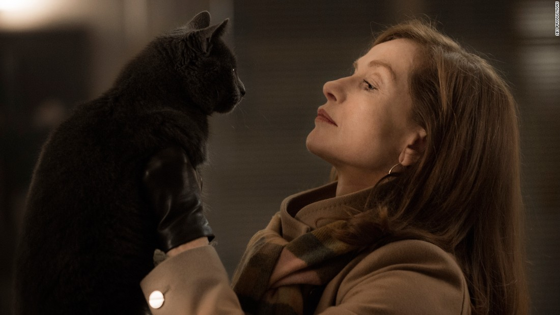 "<strong>Best foreign-language film: </strong>""Elle"" (France)"