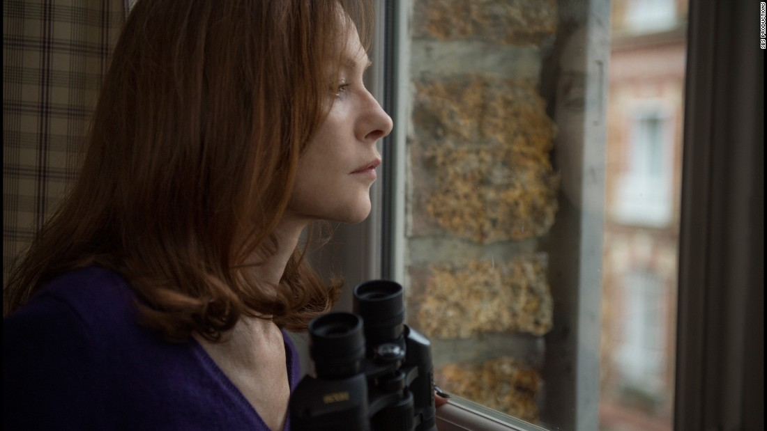 "<strong>Best actress in a motion picture -- drama: </strong>Isabelle Huppert, ""Elle"""