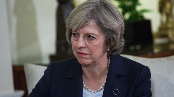 British Prime Minister Theresa May is due to meet Friday, January 27, 2017, in Washington with President Donald Trump.