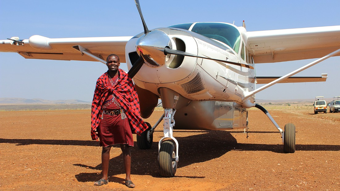 <strong>Private plane safari in Kenya: </strong>Seeing everything Kenya has to offer can be a challenge. Scenic Air Safaris offers a nine-day endangered species itinerary in a 10-seater private plane.