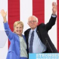 sanders endorses hillary - RESTRICTED
