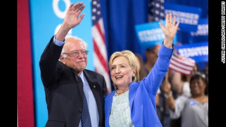Sanders on Clinton's criticism: 'Look forward and not backward'