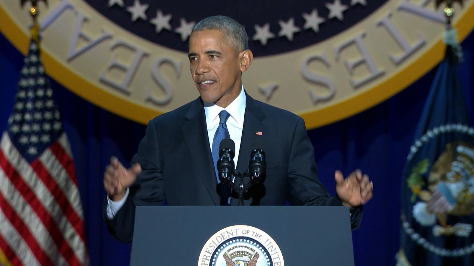President Obama farewell address: full text, video - CNNPolitics