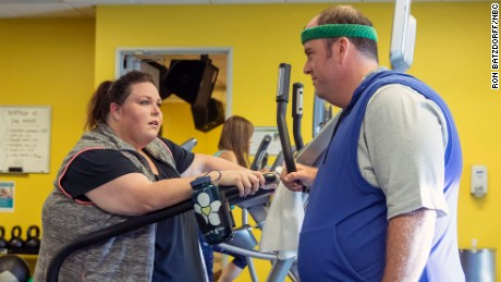 "The future looks bright for Kate (Chrissy Metz) and Toby (Chris Sullivan) on NBC's ""This Is Us."""