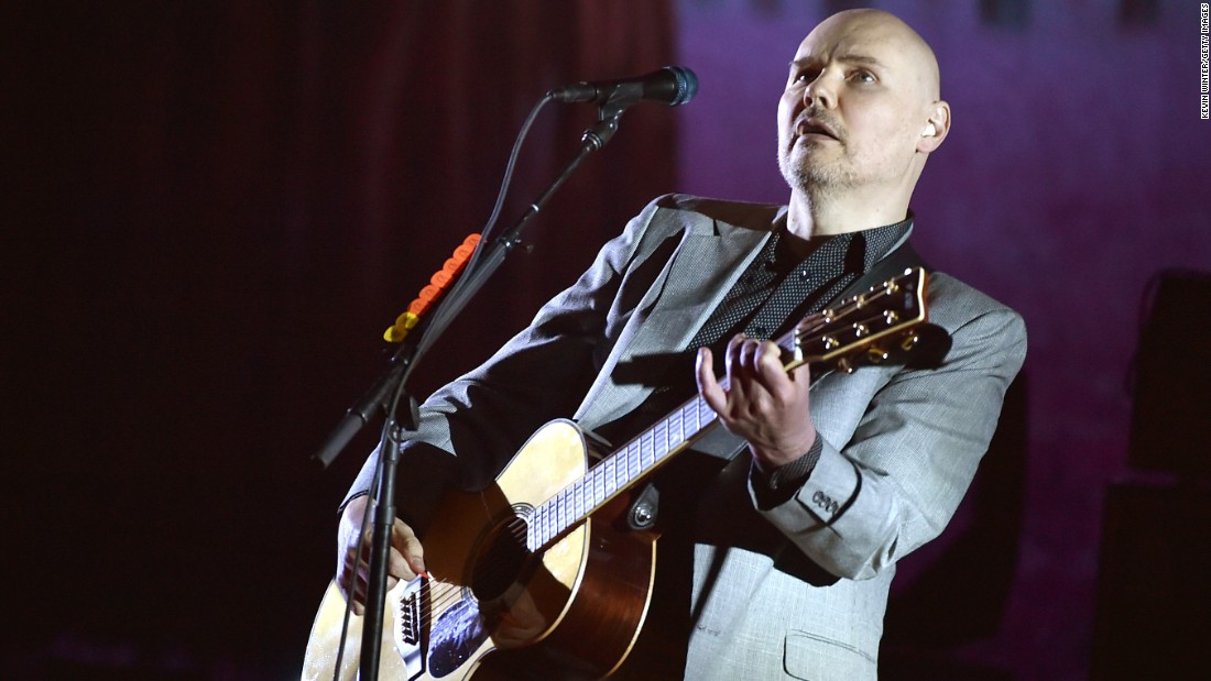Here's hoping Billy Corgan had a Smashing (Pumpkins) time on March 17.