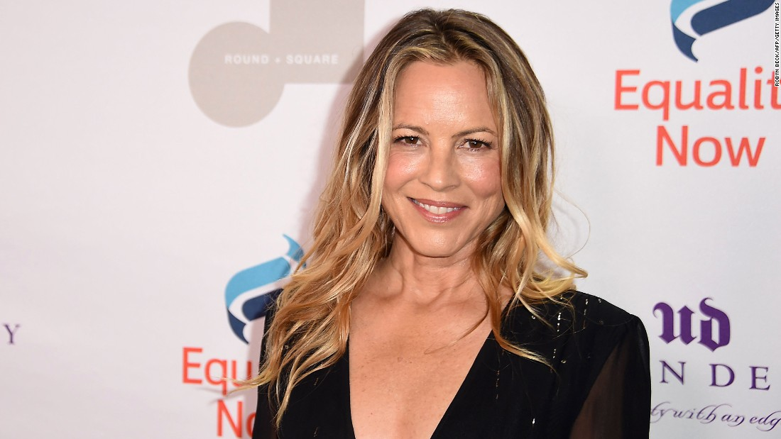 Actress Maria Bello got her cake on April 18.