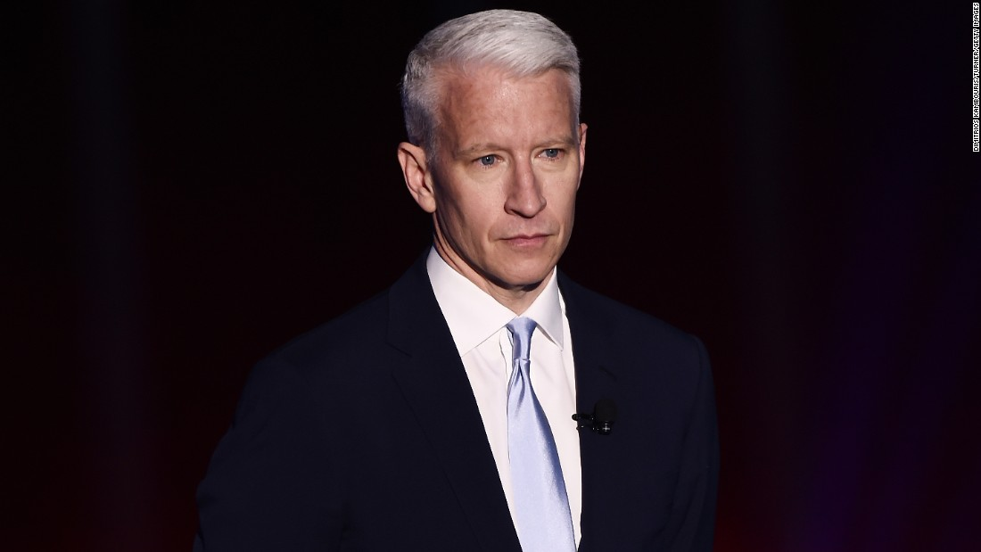 Newsflash! CNN's Anderson Cooper turned 50 on June 3.