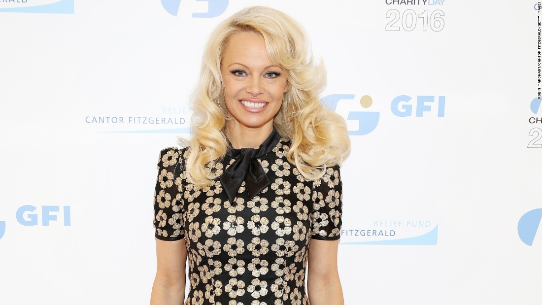 """Baywatch"" beauty Pamela Anderson marked a half-century on July 1."