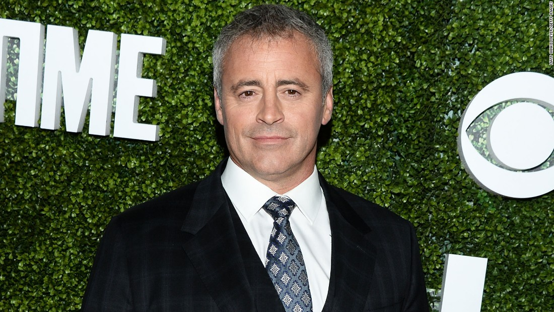 """Friends"" feted Matt LeBlanc on July 25."