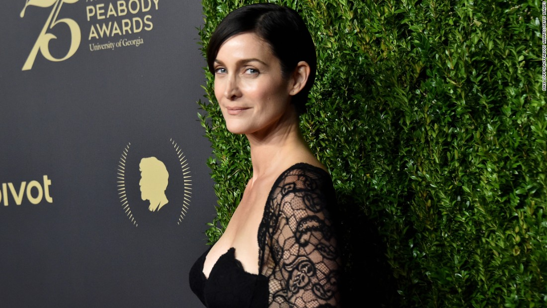 "Carrie-Anne Moss, star of ""Jessica Jones"" and ""The Matrix,"" got her day on August 21."