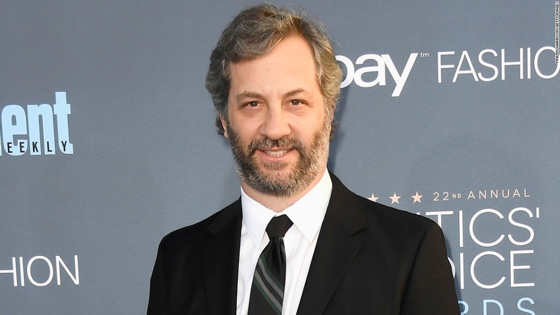 "Director Judd Apatow had a hit with ""The 40-Year-Old Virgin."" He turns 50 on December 6."