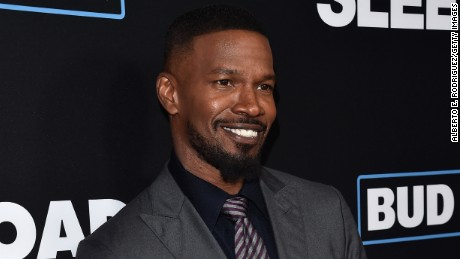 "LOS ANGELES, CA - JANUARY 05:  Actor Jamie Foxx attends the Premiere of Open Road Films' ""Sleepless""  at Regal LA Live Stadium 14 on January 5, 2017 in Los Angeles, California.  (Photo by Alberto E. Rodriguez/Getty Images)"