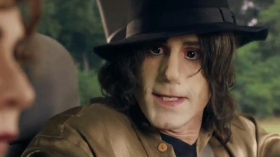 Actor Joseph Fiennes was cast to play late superstar Michael Jackson in a British made-for-TV movie about a road trip Jackson, Elizabeth Taylor and Marlon Brando took after the September 11 attacks. Some Jackson fans have been dismayed that a white actor would be cast to play the African-American singer.