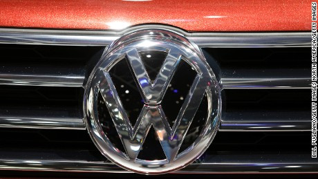 DETROIT, MI - JANUARY 10: The Volkswagen logo is shown on the grill of a VW vehicle at the 2017 North American International Auto Show (NAIAS) on January 10, 2017 in Detroit, Michigan. Approximately 5000 journalists from around the world and nearly 800,000 people are expected to attend the NAIAS between January 8th and January 22nd to see the more than 750 vehicles and numerous interactive displays. (Photo by Bill Pugliano/Getty Images)