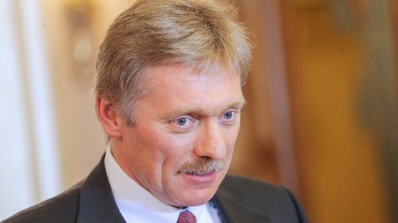 Dmitry Peskov, spokesman for  Vladimir Putin.