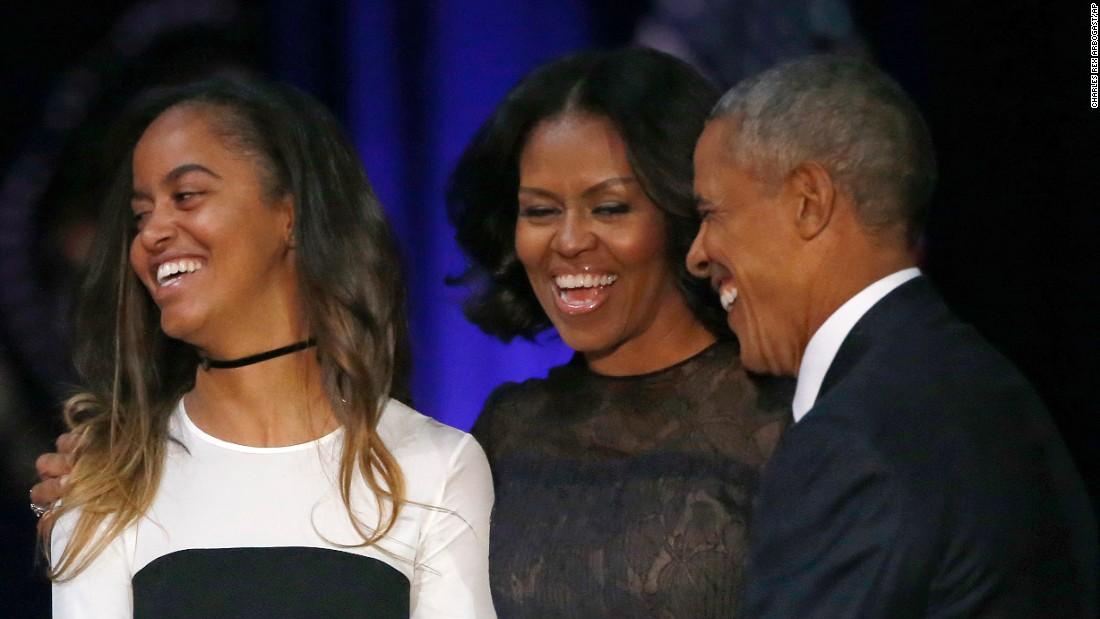 Photo Of Malia Obama >> Where was Sasha during Obama's farewell address? - CNNPolitics