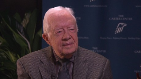 Jimmy Carter, cancer-free, crusades against the Guinea worm
