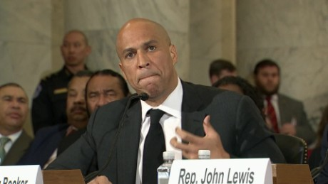 Booker to Sessions: 'Love all our citizens'