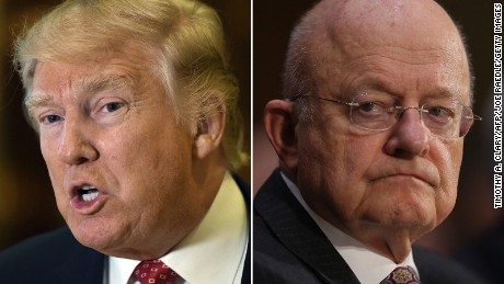 James Clapper did NOT say what Donald Trump keeps saying he said