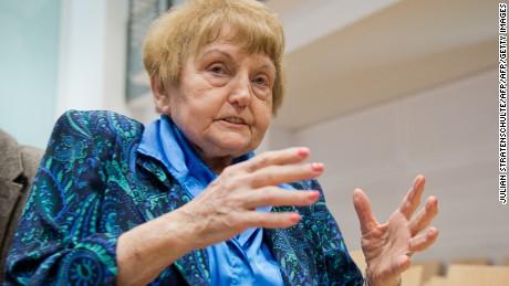 Eva Kor, a Holocaust survivor and forgiveness advocate, dies at 85