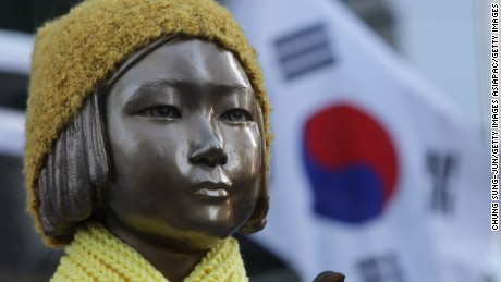 Why this statue of a young girl caused a diplomatic incident