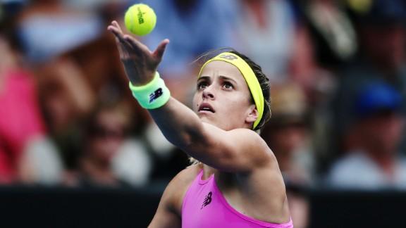 Nicole Gibbs won her opening match at the 2016 Australian Open.