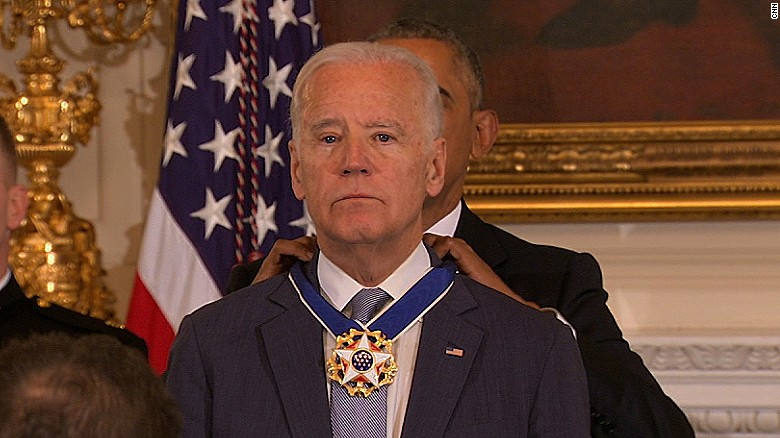 Joe Biden awarded presidential Medal of Freedom - CNNPolitics