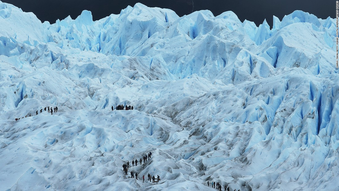 <strong>Los Glaciares, Patagonia, Argentina: </strong>Lunar New Year falls within the best time to trek Los Glaciares National Park, part of the Southern Patagonian Ice Field in Argentina.