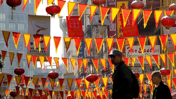 Chinatown, San Francisco: As the biggest Chinatown outside of Asia, San Francisco's Chinese quarter can be touristy the rest of the year but it's the perfect place to enjoy Chinese New Year.