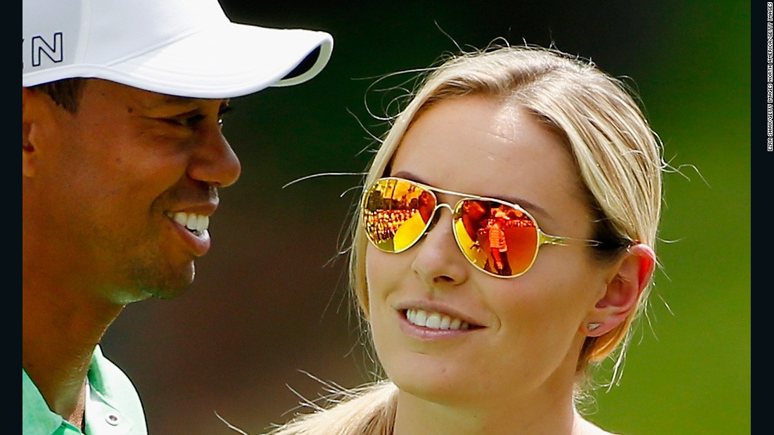 Vonn's public profile went galactic when she dated star golfer Tiger Woods for two years between 2013 and 2015.