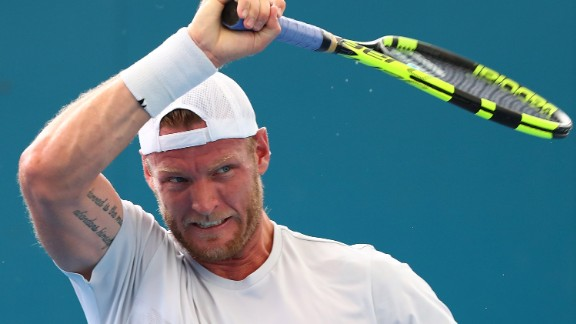 Men are subject to abuse, too. Big-serving Australian Sam Groth said last December that his family and girlfriend receive death threats after some matches.