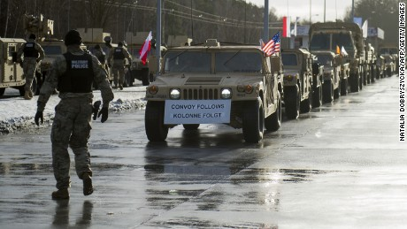Poland welcomes US troops