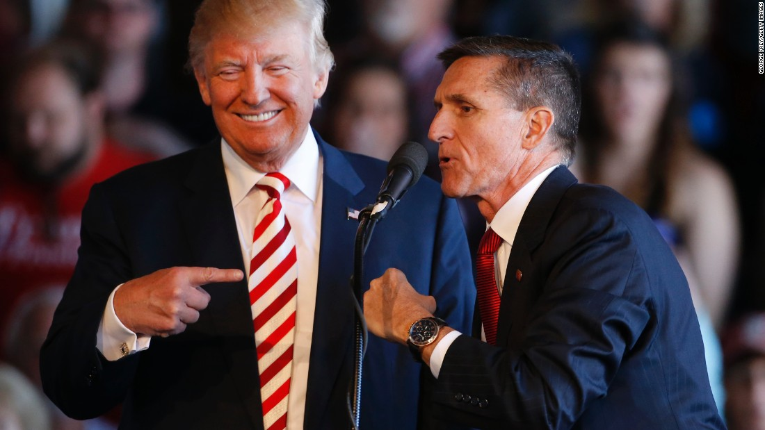 The Point: How Michael Flynn perfectly explains Donald Trump's presidency