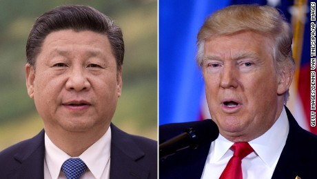 Trump holds calls with Xi, Abe over N. Korea