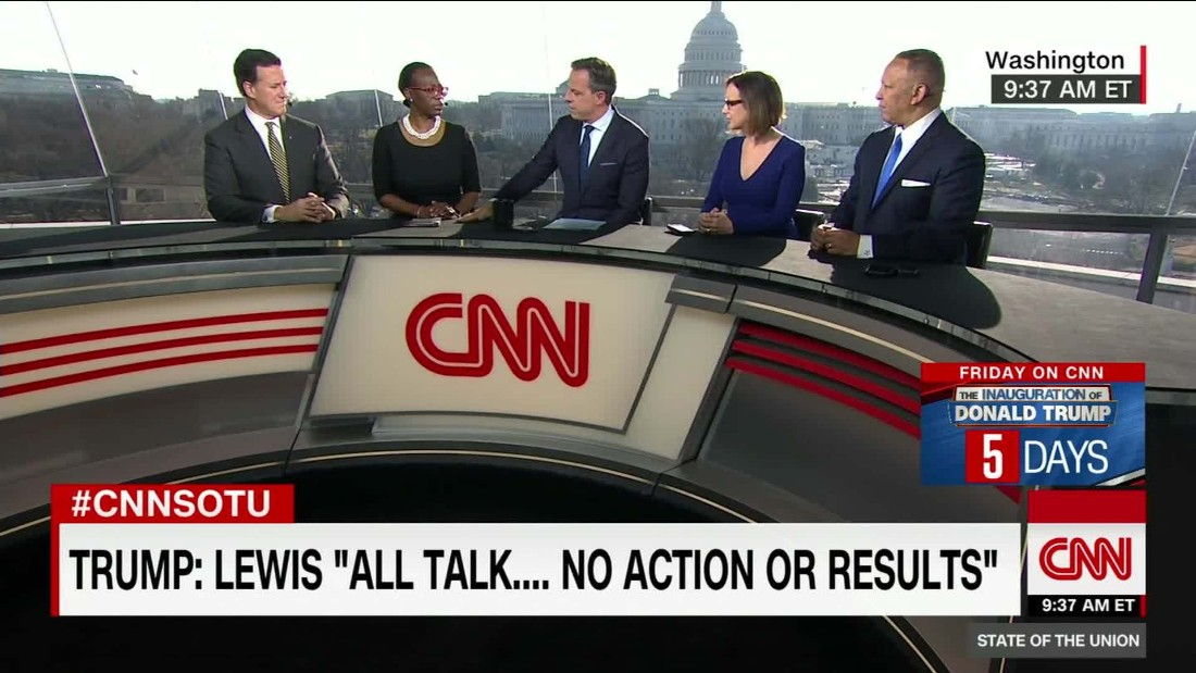 Sotu >> Nina Turner: Trump tweets on John Lewis 'insensitive' - CNN Video